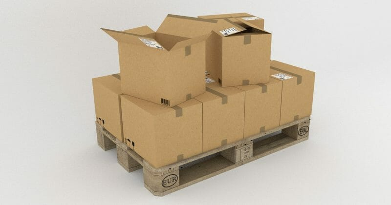 package and pallet handling